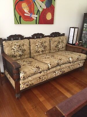 Jacobean Lounge Suite - Hardly Used, Great Condition