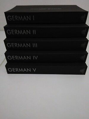 German Pimsleur Level 1-5 Gold 80 CD I II III IV V One Two Three Four Five