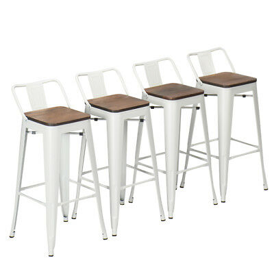 Stupendous 4 Bar Stools 26 Metal Counter Height Barstool Chair Low Squirreltailoven Fun Painted Chair Ideas Images Squirreltailovenorg