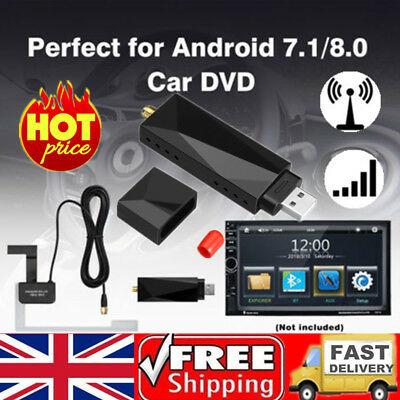 USB DAB+ Digital Radio Tuner Receiver USB Dongle For Android 7.1/8.0 Car DVD UK