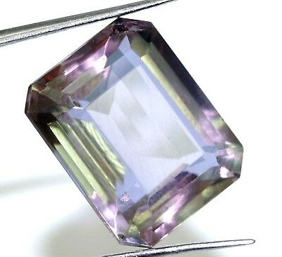Diwali Offer GGL Certified 11.15 Ct Charming Emerald Cut Changing Alexandrite