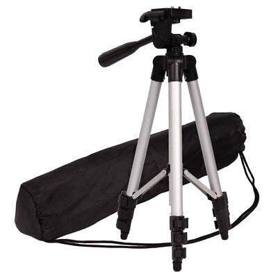 Universal Portable Aluminum Tripod Stand & Bag for most Digital Cameras