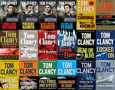 The JACK RYAN Series By Tom Clancy (18 MP3 Audiobook Collection)