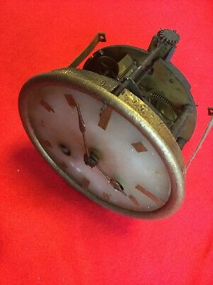 Top Quality Marti Antique French Clock Movement Alabaster Dial Hands