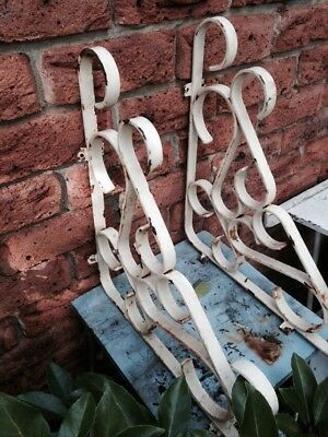 Vintage Cast Iron Brackets/corners