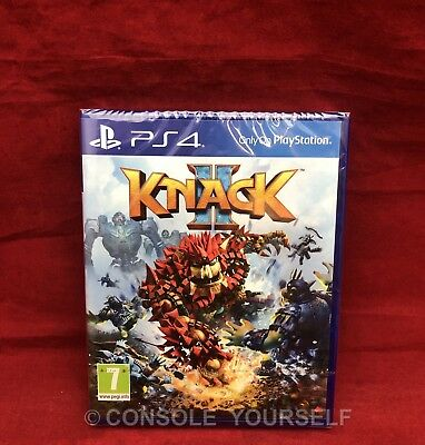 Knack Ii 2 - Brand New Sealed - Playstation 4 Ps4 - Pal Uk