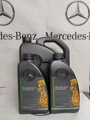 Genuine Mercedes-Benz 229.51 Engine Oil Synthetic Diesel Low Ash 7L