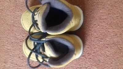 Baby boys genuine suede shoes by nike 3.5