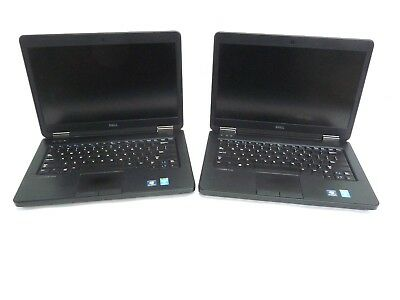 "2x Dell Latitude E5440 14"" Laptop Core i5 4300U 1.9GHz 8GB RAM *Pressure Marked*"