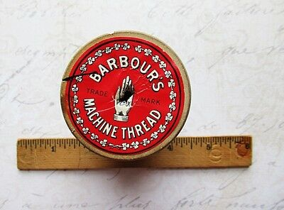 XXL BARBOUR'S Antique Spool ~ 3 Cord - Machine Spool - Thread