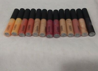 1 Mac Plushglass Lip Gloss  colors to Choose From Full Size Authentic NWOB!