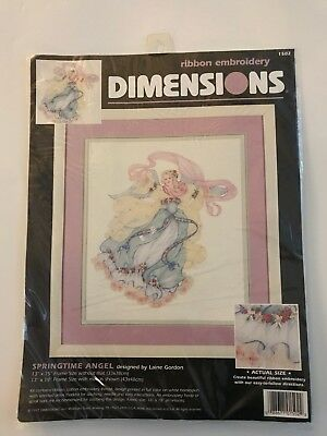 Dimensions Springtime Angel Ribbon Embroidery Kit #1502