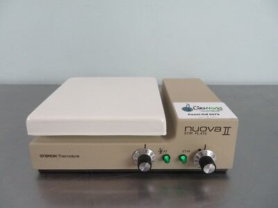 Thermolyne Nuova II Hotplate Stirrer with Warranty SEE VIDEO