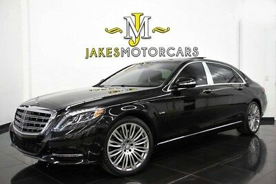 2016 Mercedes-Benz S-Class Maybach S600~ EXECUTIVE REAR SEATING~ REFRIGERATOR 2016 MAYBACH S600~ $200K MSRP! ~EXEC REAR SEAT PKG~ REFRIGERATOR~ 13K MILES
