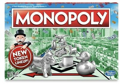 Monopoly The Classic Edition Traditional Family Fun Board Game Original Genuine
