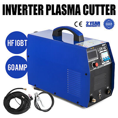 60Amp Arc Inverter Plasma Cutter Pilot 85% Efficiency Non-Touch Powerful GREAT