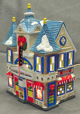 """Coca-Cola """"Strand Theater"""" Lighted Building, Town Square Collection 1994, Exc."""