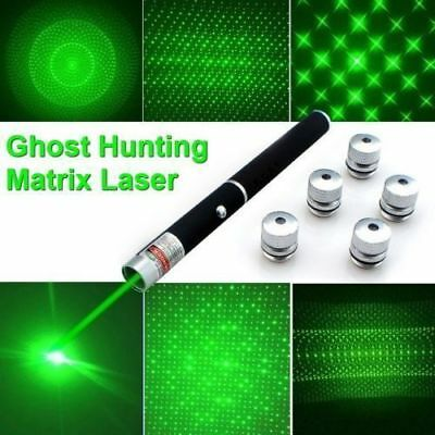 Ghost Hunting Green 6n1 LASER GRID PEN Head Equipment Pointer UK paranormal New