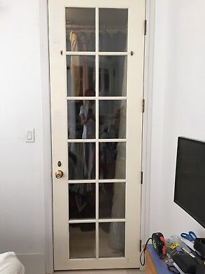 Vintage French Door With Thermal Windows