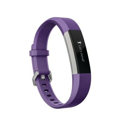 Fitbit Ace, Activity Tracker for Kids 8+, Power Purple/Stainless Steel One Size