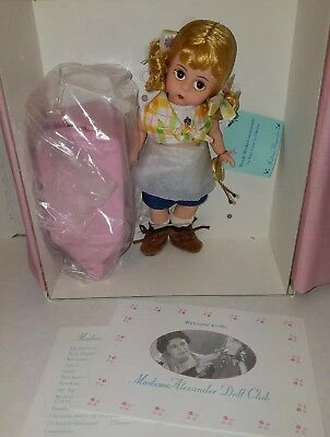 Vintage Madame Alexander Wendy Works Construction Doll #31420 New In Box!