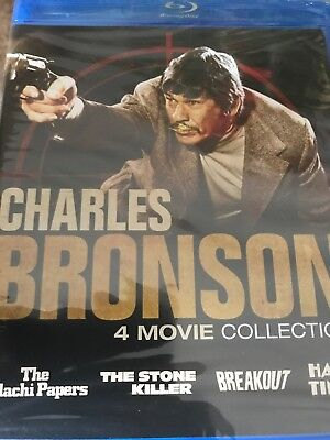 Charles Bronson 4 Movie Collection (Blu Ray) NEW