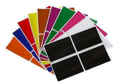 """Moving Labels 3x2"""" Inch Color Coding Organizing 7.5 cm x 5 cm Stickers 40 Pack"""