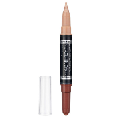 Rimmel London Magnif'Eyes Double Ended Eyeshadow and Liner 3, Queens of a Bronze