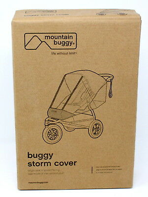 Mountain Buggy Storm Cover for 2015 Terrain and Urban Jungle Stroller