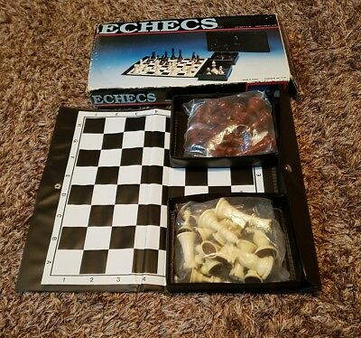 Chess Piecs Set With Fold Out Board