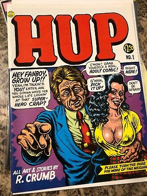Hup #1 First Printing Underground Comix Comic Book Last Gasp 1st