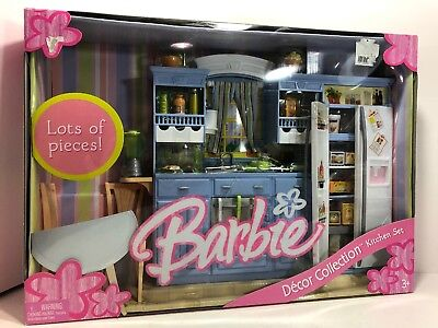 Barbie Kitchen Set (Decor Collection) (NEW)