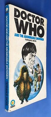 Doctor Who and the Abominable Snowmen - Target 1 - Terrance Dicks - 1st Edition