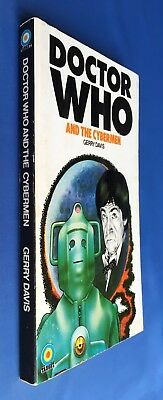Doctor Who and the Cybermen - Target 14 - 1st Edition - Gerry Davis