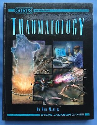 GURPS Thaumatology - 4th Fourth Edition 1st Printing - Hardcover Hardback