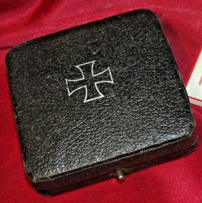 Original Wwii German Iron Cross 1St Class Box! Excellent Condition!! Hard To Fin