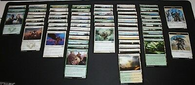 Magic the Gathering (MTG) White/Green-Counters Beginner/Starter/Casual Deck+Box