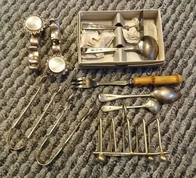 Job Lot Of Vintage Silver Plate Items