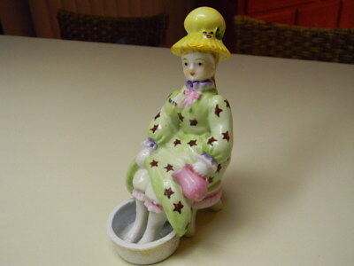 Vintage Lenwile China Ardalt Lady Soaking Feet/Foot Bath Figurine Japan 6736
