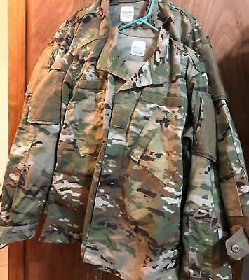 """Usgi Army Ocp Scorpion W2 Uniforms Two (2) Sets """"excellent Condition"""" Med-Reg"""