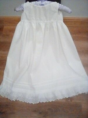 antique victorian baby gown .petticoat .beautiful no