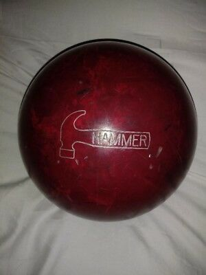 HAMMER SPIKE Bowling ball. NO POSTAGE CHARGE. 11.5lbs. GOOD condition