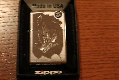 Zippo 21069 Birds Of Prey 250 Polished Chrome Windproof Eagle Lighter New In Box