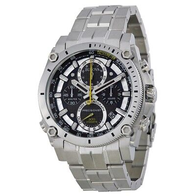New Without Tag Bulova Mens Champlain Precisionist Chronograph 300M Watch 96B175