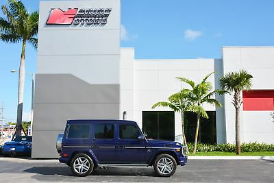 2016 Mercedes-Benz G-Class AMG G 63 2016 G63 AMG - ONLY 11,000 MILES - RARE DESIGNO MYSTIC BLUE - 1 OWNER
