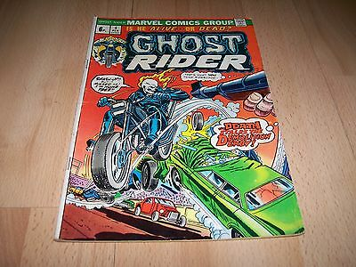 Ghost Rider (1973 1st Series) #4...Published Feb 1974 by Marvel