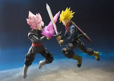 """In STOCK Japan Ver S.H. Figuarts Dragonball Super """"Future Trunks"""" Action Figure"""