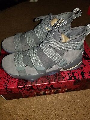 7b170d2cfdf ... hot product Nike LeBron Soldier XI Men s Basketball Shoes Size 11 Cool  Grey 897644 010 ...