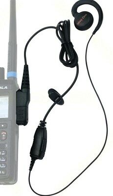 Motorola PMLN5727A PMLN5727 MagOne Swivel Earpiece with inline PTT and Microphon