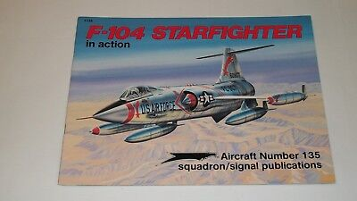 Squadron Publications book on the F-104 Starfighter in action
